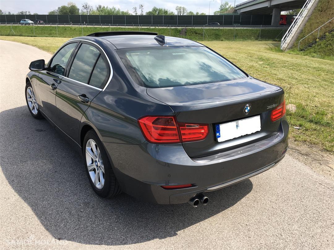 BMW Seria 3 F30 (2012-) BMW F30 EUROPA Benzyna Bezwypadkowa,Aso,Skóra,Navi,xenon, head-up, szyberdach FULL LED .ZAMIANA  7