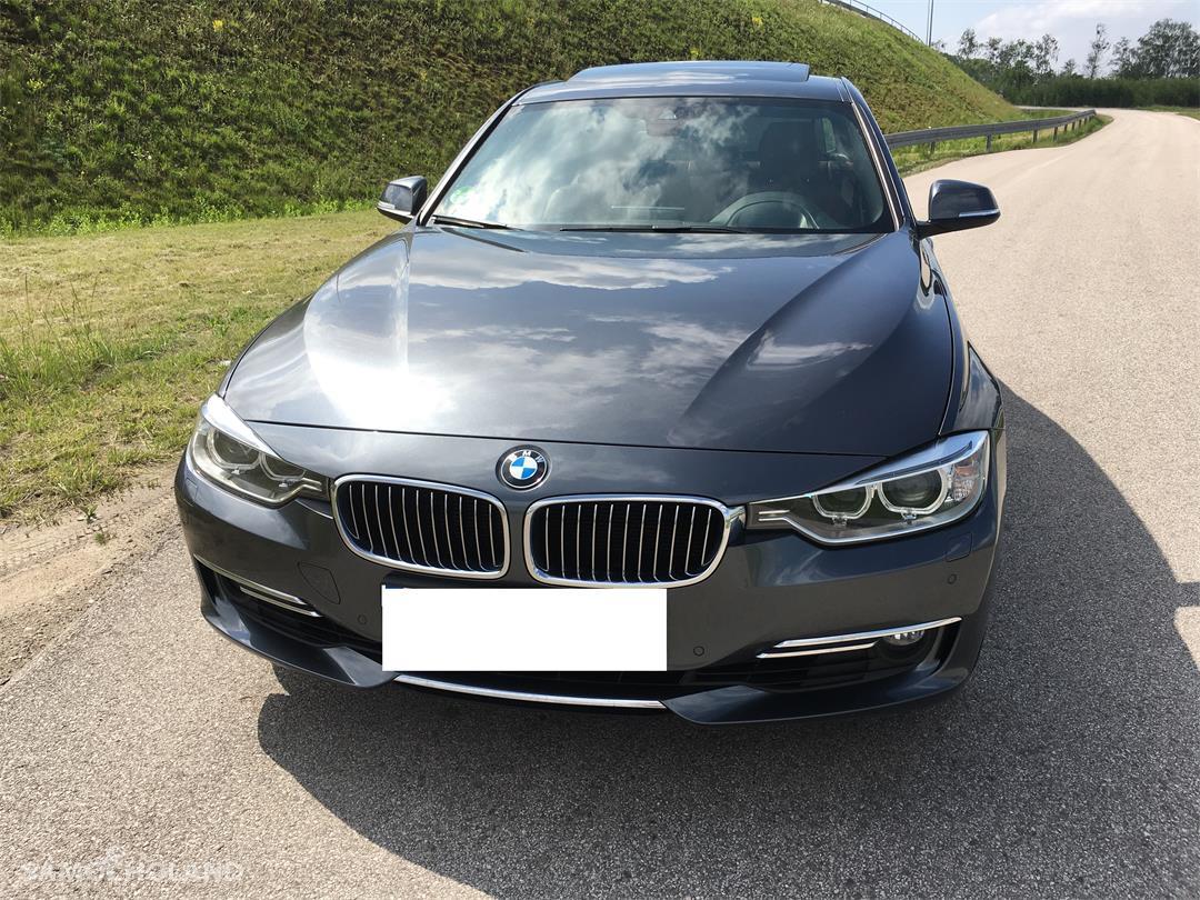 BMW Seria 3 F30 (2012-) BMW F30 EUROPA Benzyna Bezwypadkowa,Aso,Skóra,Navi,xenon, head-up, szyberdach FULL LED .ZAMIANA  1