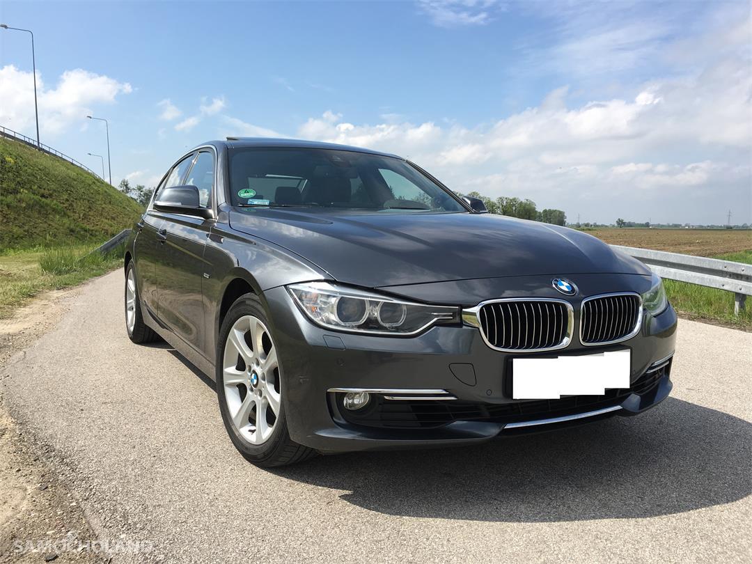 BMW Seria 3 F30 (2012-) BMW F30 EUROPA Benzyna Bezwypadkowa,Aso,Skóra,Navi,xenon, head-up, szyberdach FULL LED .ZAMIANA  4