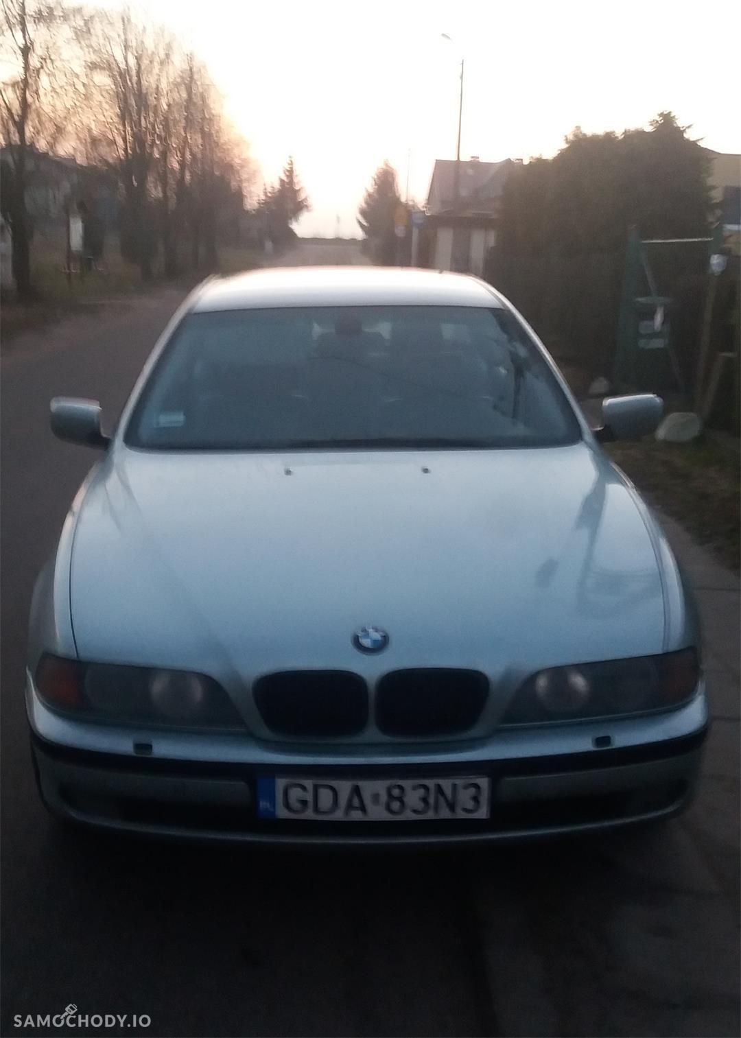 BMW Seria 5 E39 (1996-2003) Automat, skóra, zarejestrowany w Polsce, od osoby prywatnej 2