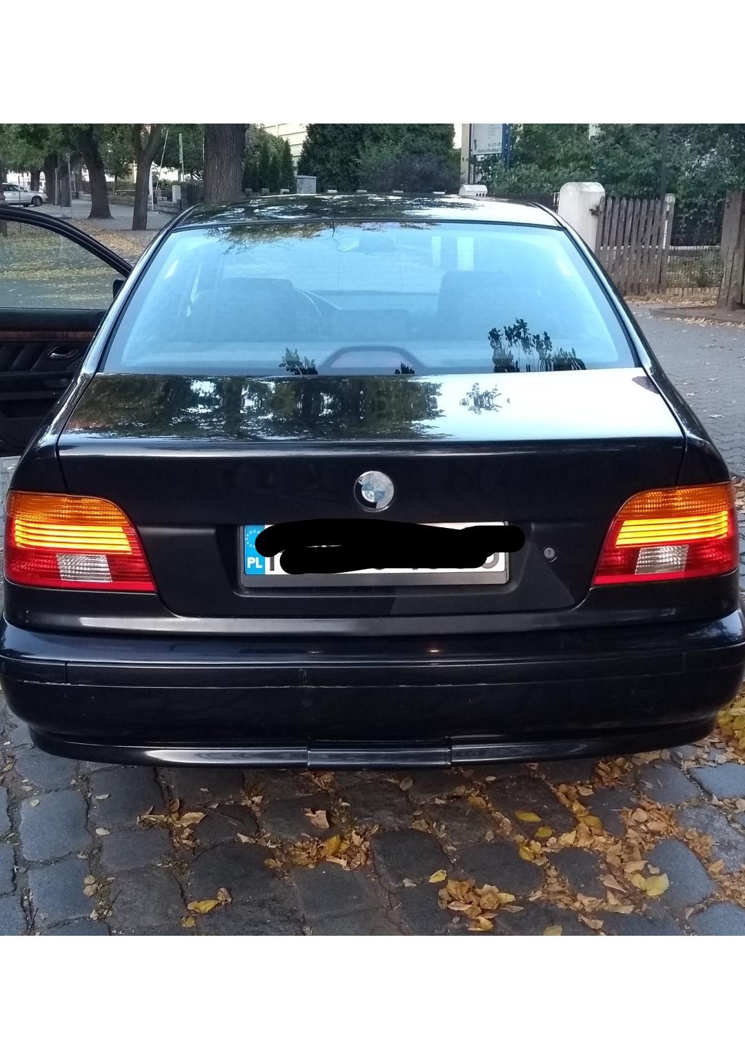 BMW Seria 5 E39 (1996-2003) Czarne BMW E39 klasyka gatunku 2
