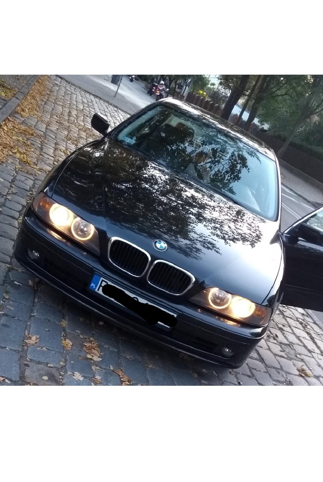 BMW Seria 5 E39 (1996-2003) Czarne BMW E39 klasyka gatunku 1