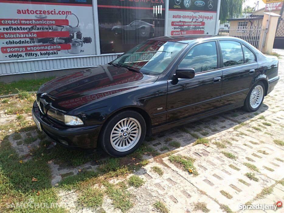 BMW Seria 5 E39 (1996-2003) sprzedam zadbane BMW e39 163km 2,5D 2