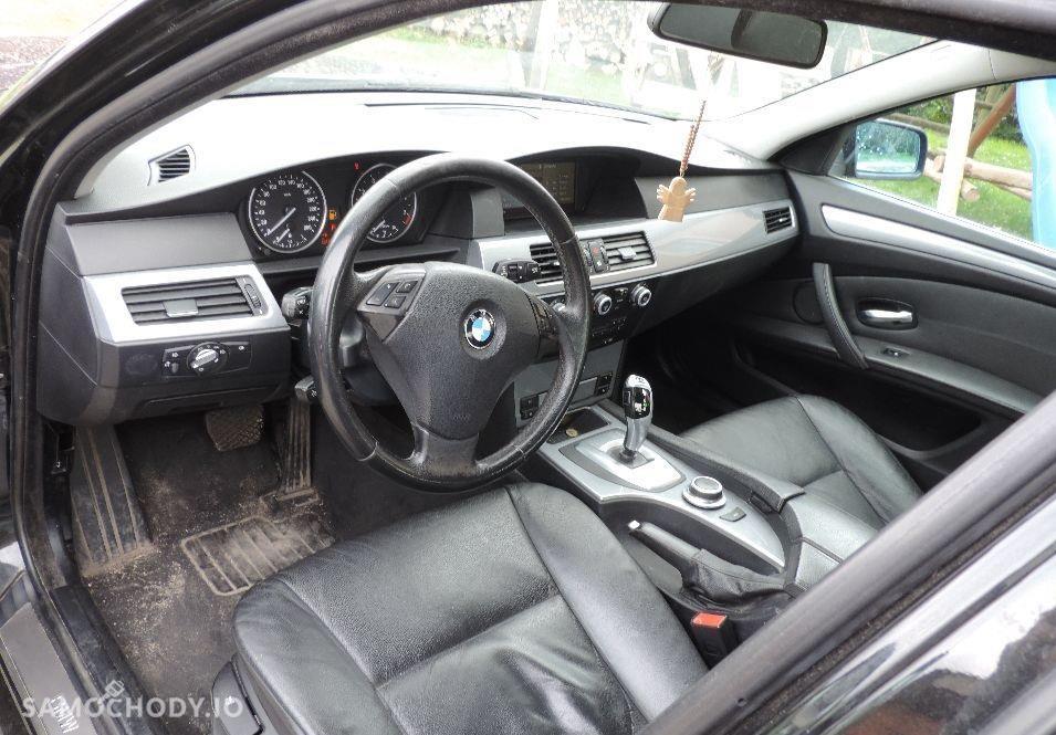BMW Seria 5 E60 (2003-2010) szyberdach, podgrzewane siedzenia, system start-stop 4