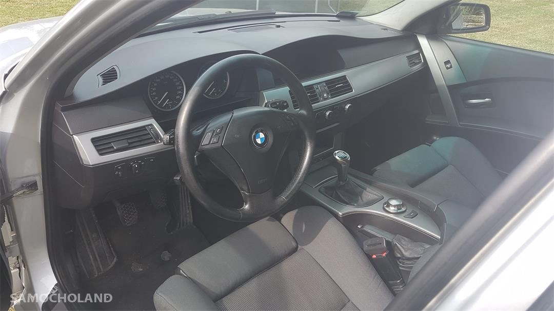 BMW Seria 5 E60 (2003-2010) BMW E 61 530D Silnik 3 litry 218 KM. 11