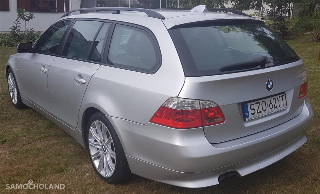 BMW Seria 5 E60 (2003-2010) BMW E 61 530D Silnik 3 litry 218 KM. 4