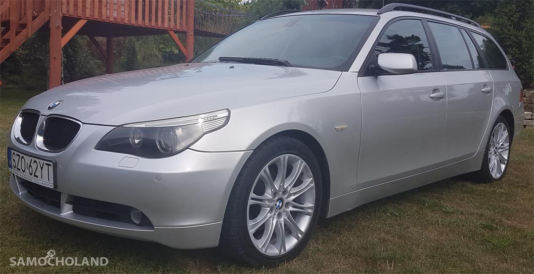 bmw seria 5 BMW Seria 5 E60 (2003-2010) BMW E 61 530D Silnik 3 litry 218 KM.