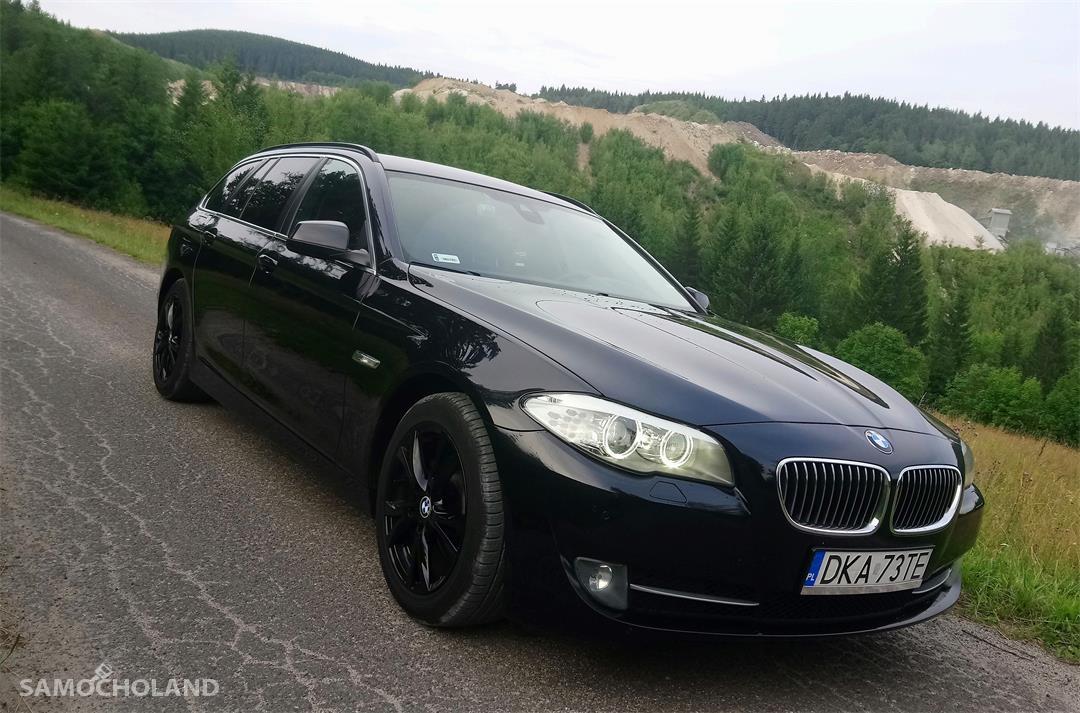 BMW Seria 5 F10 (2009-) BMW F11 kupiony w Salonie DEKRA, ASO, pełna historia, prywatny 2