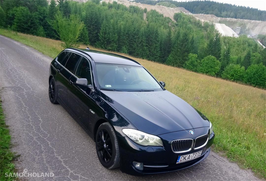 BMW Seria 5 F10 (2009-) BMW F11 kupiony w Salonie DEKRA, ASO, pełna historia, prywatny 4