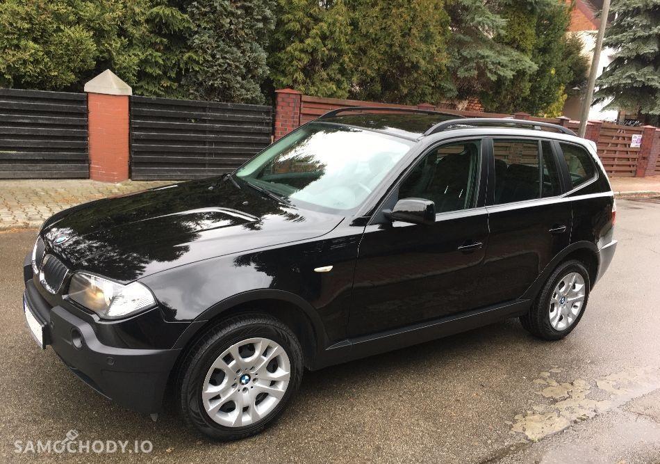 BMW X3 E83 (2003-2010) II właściciel , klima , czujniki parkowania  1