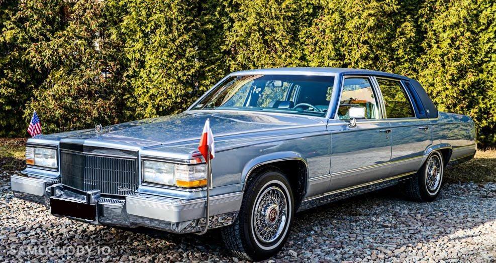 Cadillac Brougham USA , WSZYSTKO SPRAWNE , ZADBANY  1