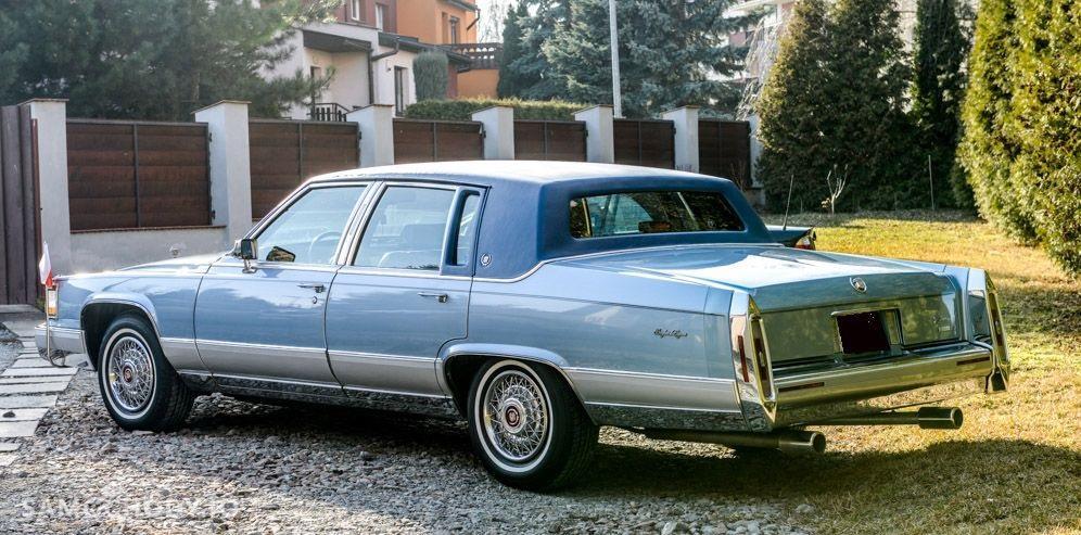 Cadillac Brougham USA , WSZYSTKO SPRAWNE , ZADBANY  2