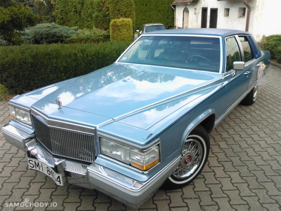 Cadillac Fleetwood sprowadzony ze Stanów w 2013 roku 2
