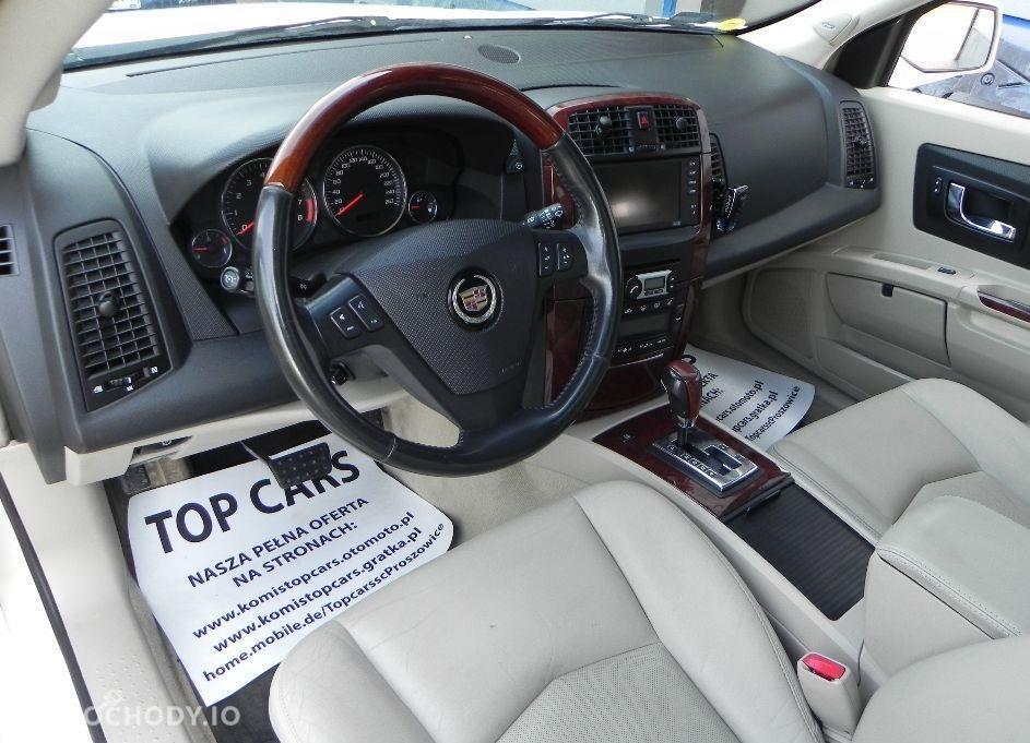 Cadillac SRX Benzyna+LPG , BOGATE WYPOSAŻENIE , 4x4 4