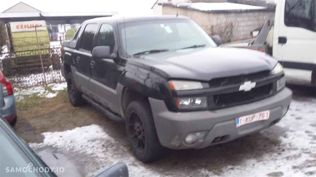 Chevrolet Avalanche ciężarowy , FAKTURA VAT  2