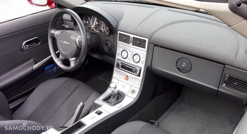Chrysler Crossfire kabriolet , napęd na tył  , klima 4