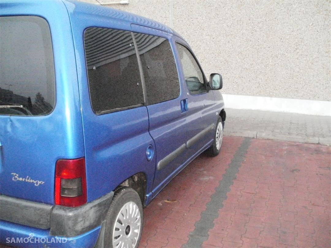 Citroen Berlingo I (1996-2010) BERLINGO 2000 rok, 5-osobowy  z hakiem, oryginalny lakier 4