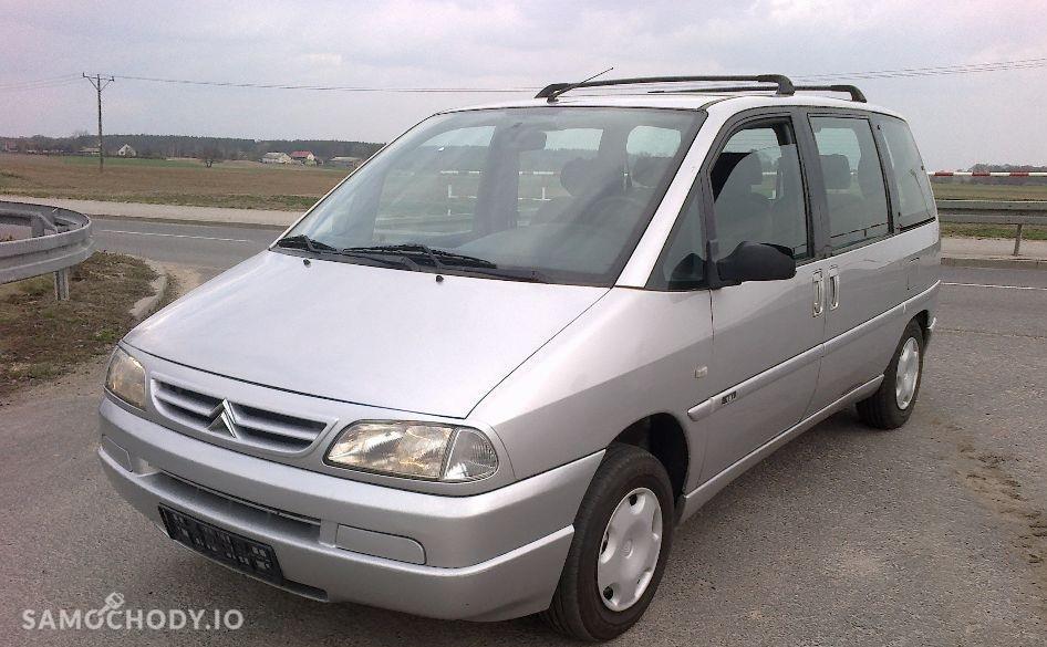 Citroen Evasion minivan , 7-osobowy , rellingi dachowe 1