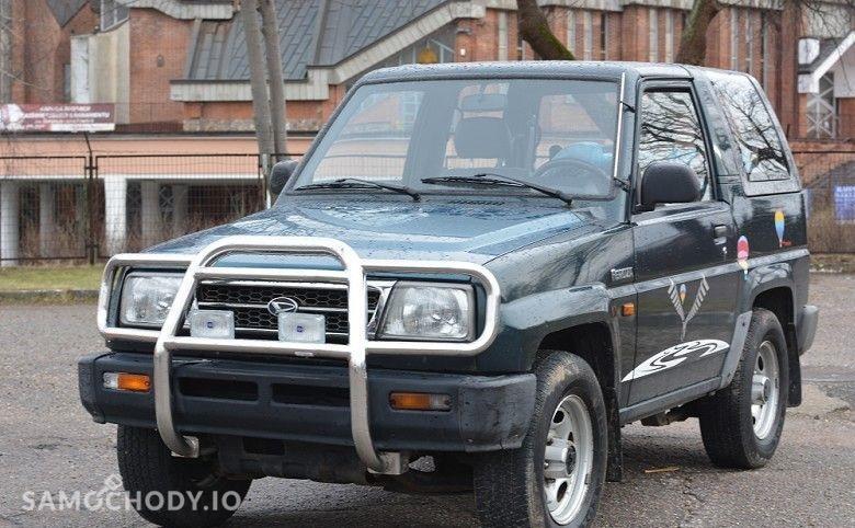 Daihatsu Feroza 4x4 , serwisowany , 95 KM  1