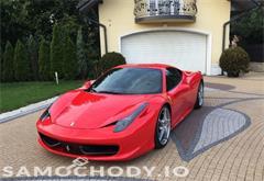 z miasta zawiercie Ferrari 458 Italia 570 KM , 2-OSOBOWE , FULL WYPOSAŻENIE