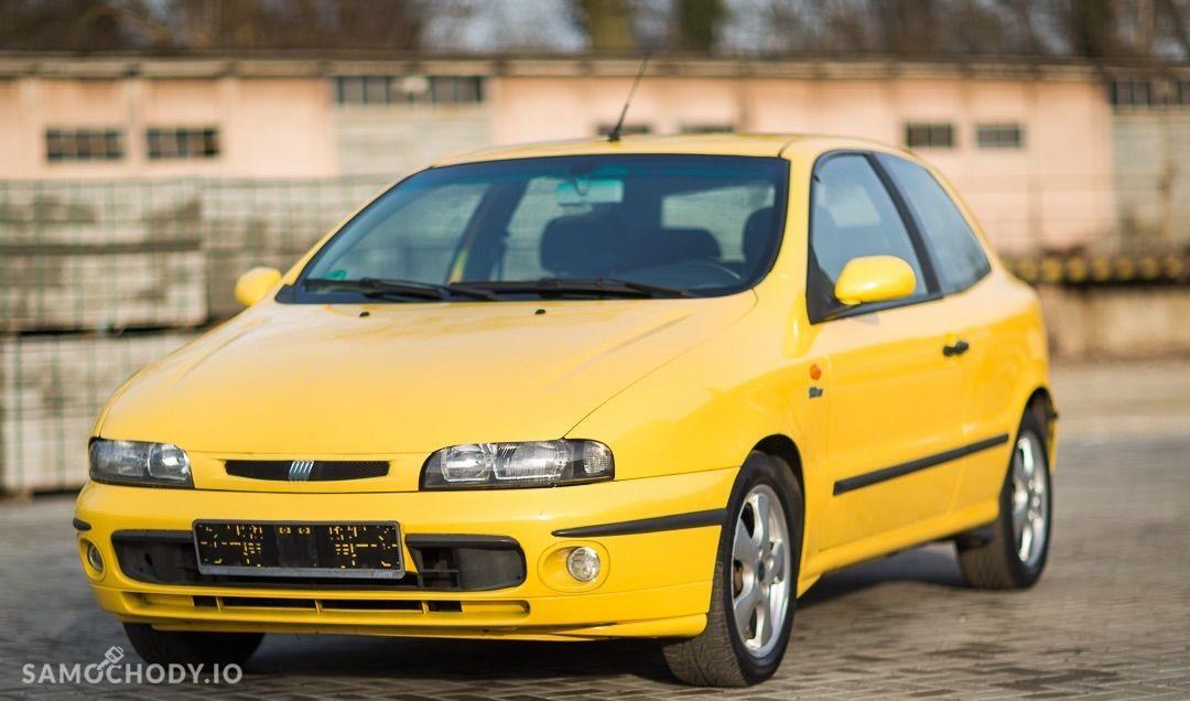 Fiat Bravo I (1995-2001) Żółta wyścigówka 105KM 1