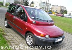 fiat z województwa wielkopolskie Fiat Multipla SUPER STAN , 6-OSOBOWA , MINIVAN