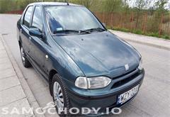 fiat siena Fiat Siena komplet nowych opon , metalik  ,sedan