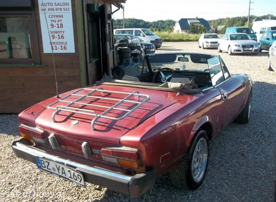 Fiat Spider Europa ORGINALNY , SPRAWNY, KLASYK 2