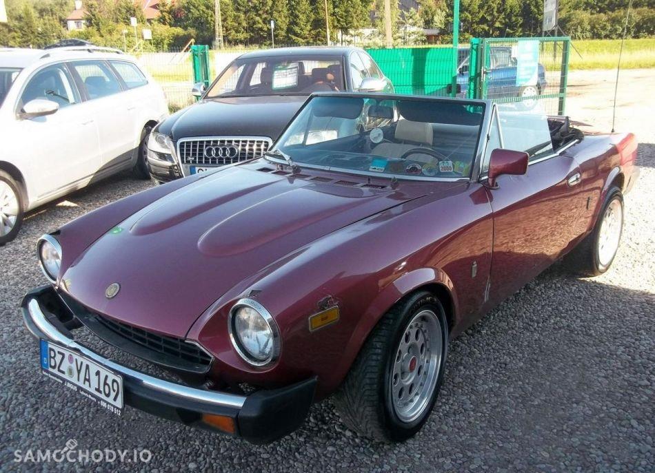 Fiat Spider Europa ORGINALNY , SPRAWNY, KLASYK 1
