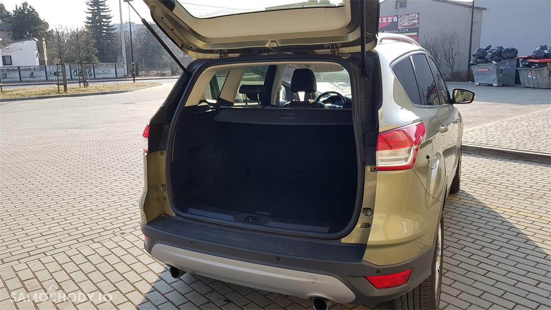 Ford Kuga II (2012-)  1.6 ecoboost benzyna Titanium,salonowy, bezwypadkowy,zadbany,mały przebieg, pierwszy właściciel. Polecam! 11