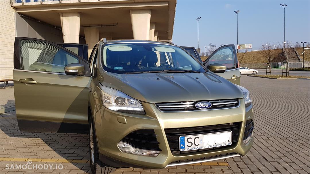 Ford Kuga II (2012-)  1.6 ecoboost benzyna Titanium,salonowy, bezwypadkowy,zadbany,mały przebieg, pierwszy właściciel. Polecam! 1