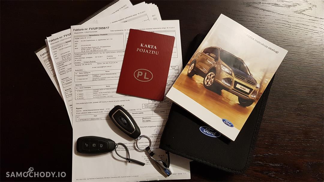 Ford Kuga II (2012-)  1.6 ecoboost benzyna Titanium,salonowy, bezwypadkowy,zadbany,mały przebieg, pierwszy właściciel. Polecam! 46