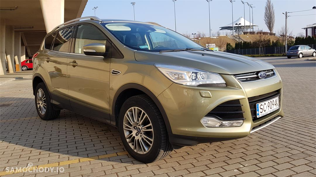 Ford Kuga II (2012-)  1.6 ecoboost benzyna Titanium,salonowy, bezwypadkowy,zadbany,mały przebieg, pierwszy właściciel. Polecam! 2