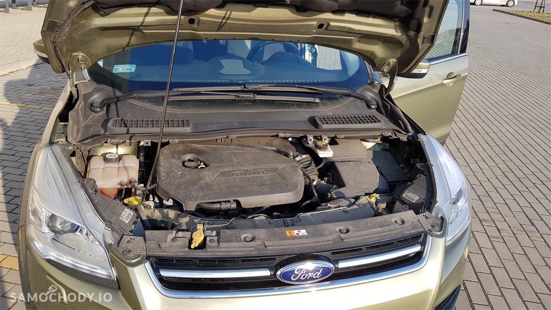 Ford Kuga II (2012-)  1.6 ecoboost benzyna Titanium,salonowy, bezwypadkowy,zadbany,mały przebieg, pierwszy właściciel. Polecam! 29
