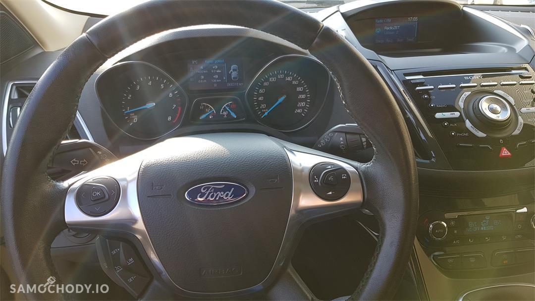 Ford Kuga II (2012-)  1.6 ecoboost benzyna Titanium,salonowy, bezwypadkowy,zadbany,mały przebieg, pierwszy właściciel. Polecam! 7