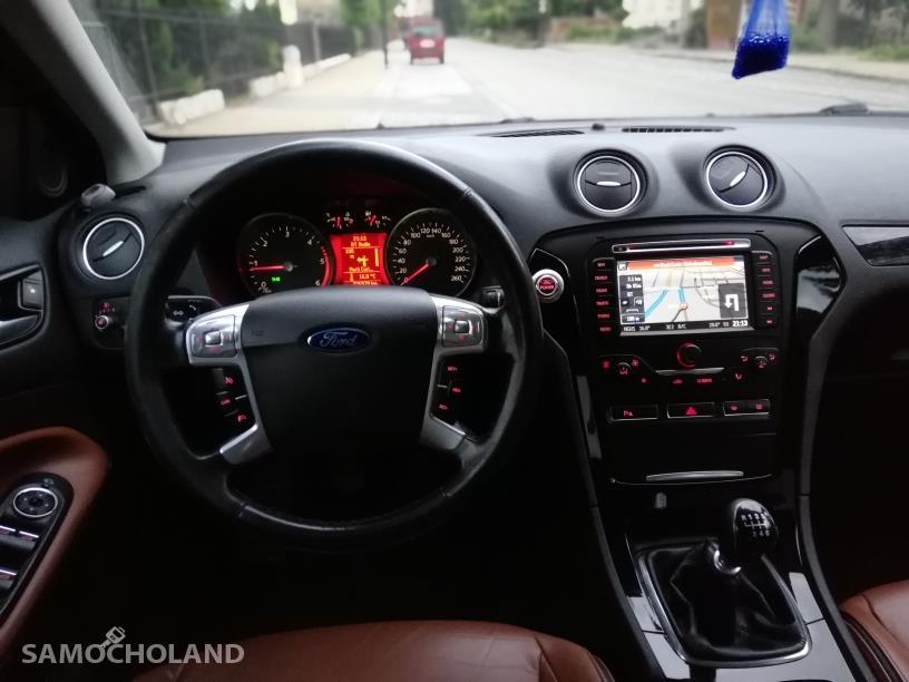 Ford Mondeo Mk4 (2007-2014) Polecam zadbane Mondeo GIA -piękna ruda skóra 22
