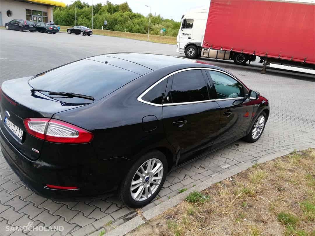 Ford Mondeo Mk4 (2007-2014) Polecam zadbane Mondeo GIA -piękna ruda skóra 4