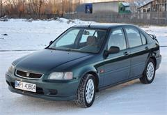 samochody osobowe Honda Civic VI (1995-2001) idealna, bez korozji, tanio!