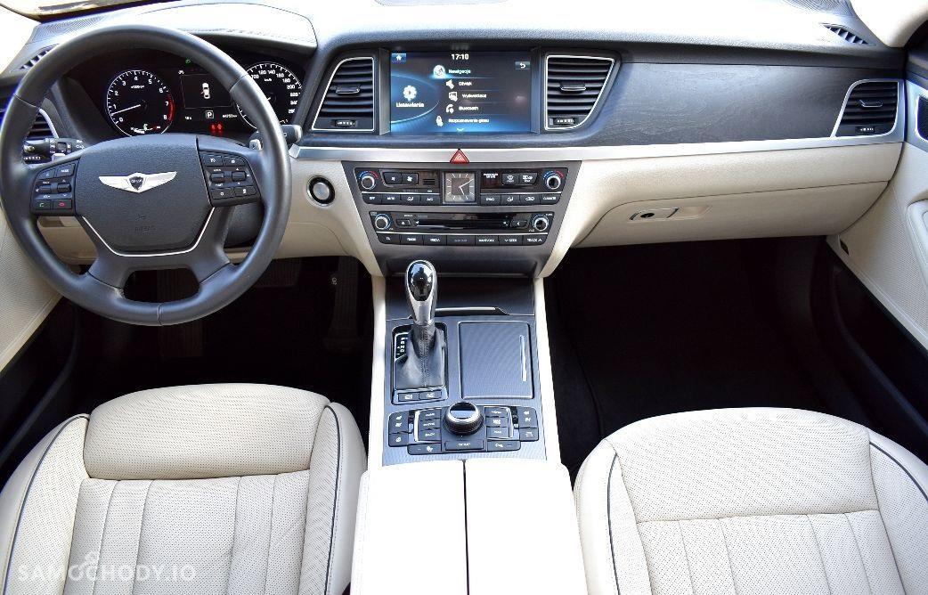Hyundai Genesis niski przebieg , z polskiego salonu , 4x4 2
