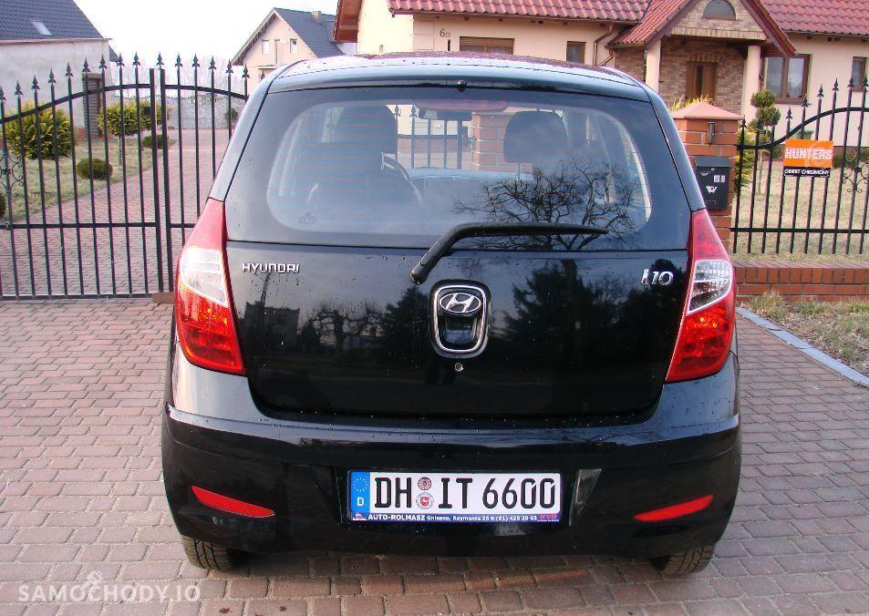 Hyundai i10 I (2008-2013) bezwypadkowy , niski przebieg , 2013 r .  2