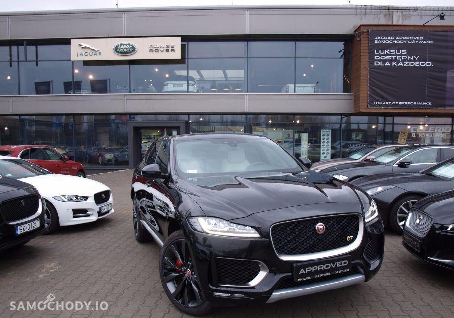 Jaguar F-Pace 300 KM , FULL WYPOSAŻENIE , BEZWYPADKOWY 1