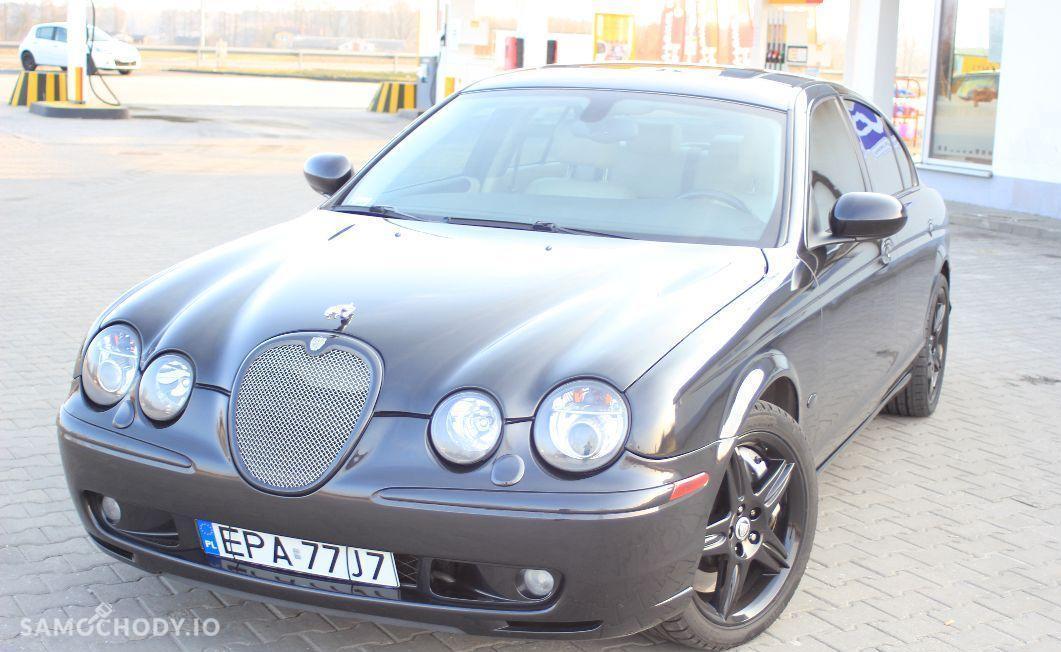Jaguar S-Type R 400 KM , xenony , skóra , szyberdach 1