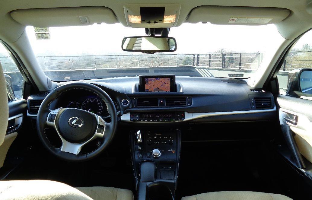 Lexus CT HYBRYDA , full wyposażenie , skóra  4