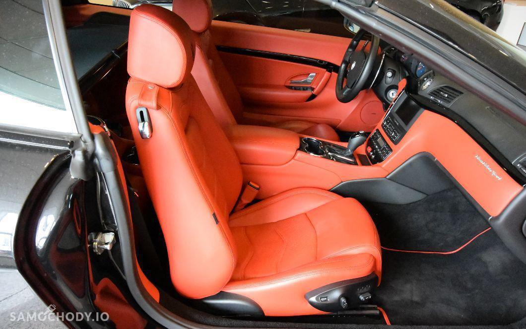 Maserati GranCabrio sport , 4.7 benzyna , kabriolet 2