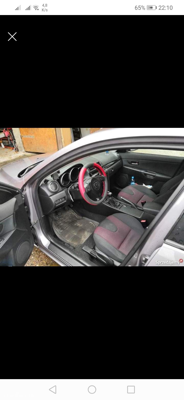 Mazda 3 I (2003-2009) Mazda 3 1.6 16V Benzyna BK 2003r. wersja EXCLUSIVE  16