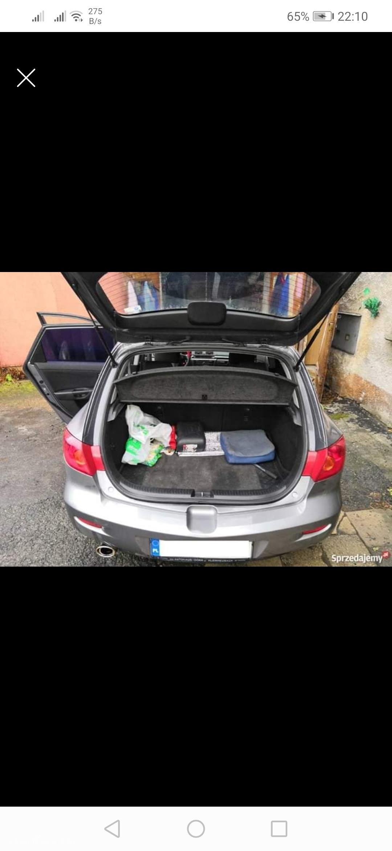 Mazda 3 I (2003-2009) Mazda 3 1.6 16V Benzyna BK 2003r. wersja EXCLUSIVE  22