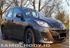 mazda z województwa mazowieckie Mazda 3 II (2009-2013) Bogata Wersja, Alu, DVD, Parctronic