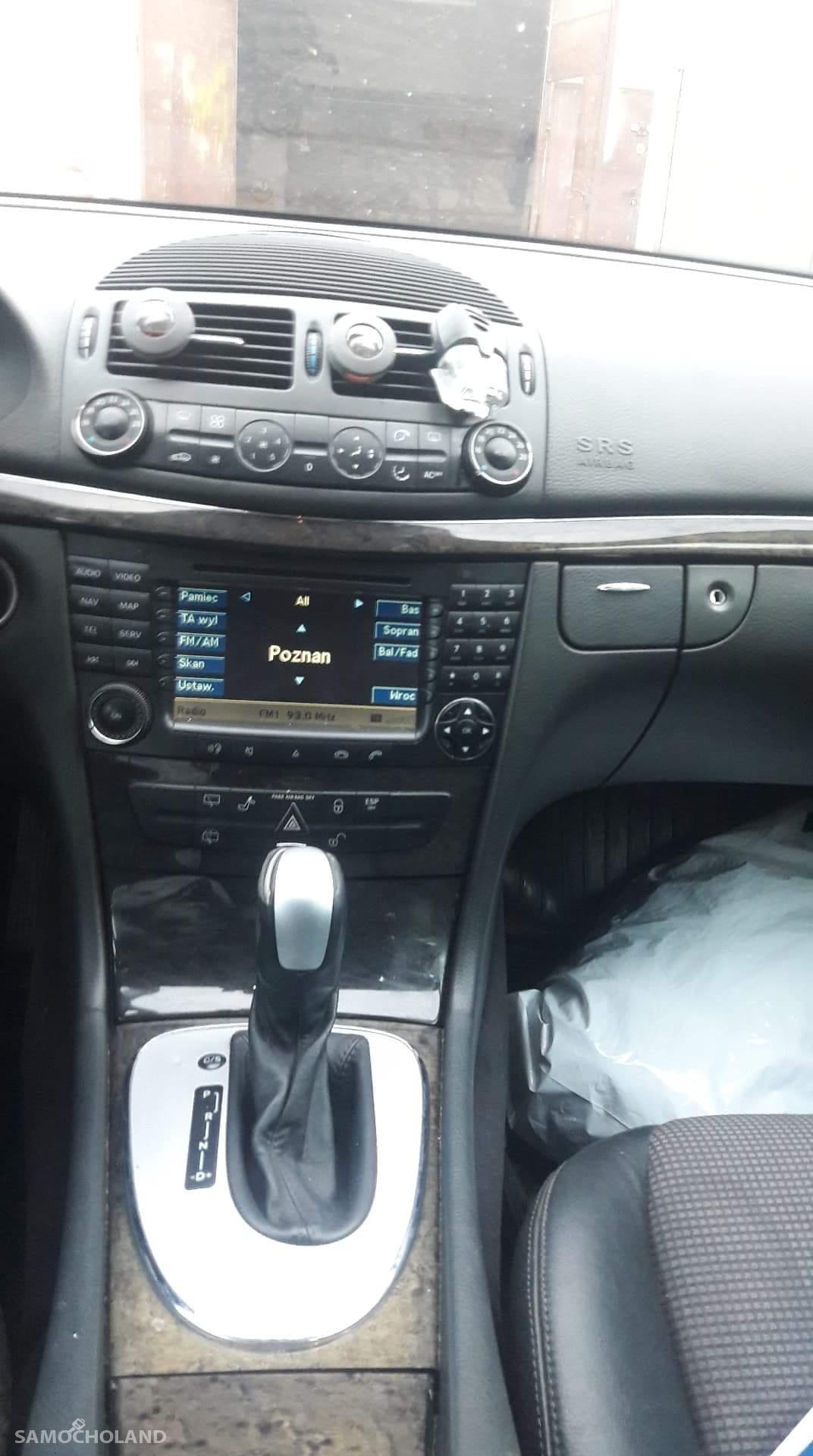 Mercedes Benz Klasa E W211 (2002-2009)  E 270 avangarde Auto zadbane, bezwypadkowy zapraszam do oglądania  2
