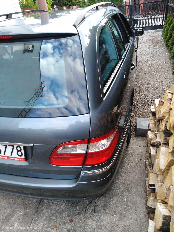 Mercedes Benz Klasa E W211 (2002-2009) Kombi 3000td garażowany oprócz skóry ma wszysko  4