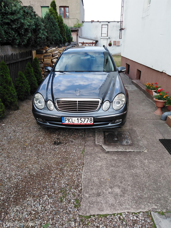 Mercedes Benz Klasa E W211 (2002-2009) Kombi 3000td garażowany oprócz skóry ma wszysko  67